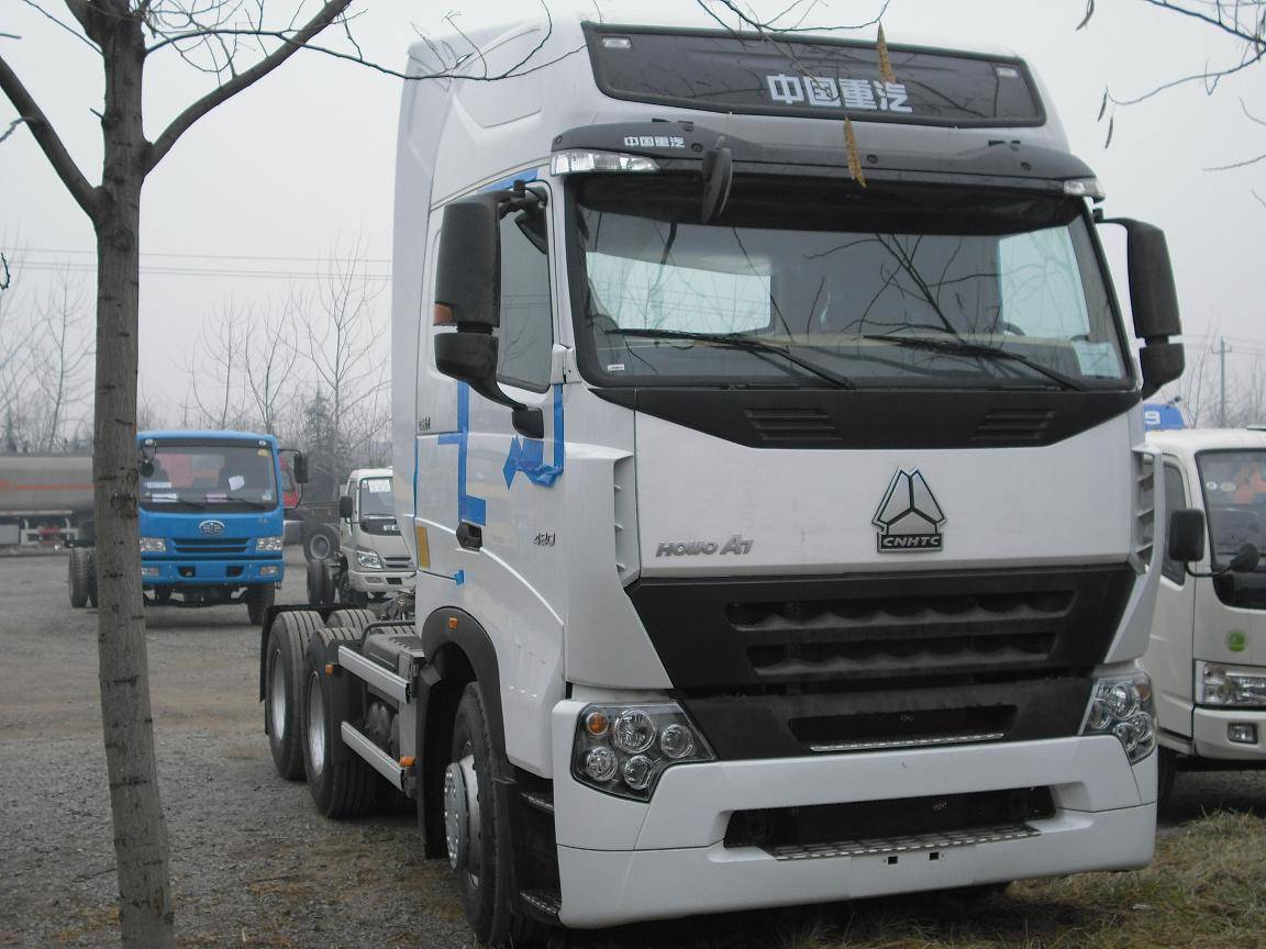 2014 Howo a7 6x4 Tractor Truck