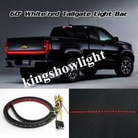 "60"" RED WHITE TAILGATE LED STRIP LIGHT BAR TAIL FOR CHEVY GMC FORD DODGE TRUCKS"
