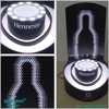 Independent research and development Acrylic led bottle glorifier decorating wine bottle shelf