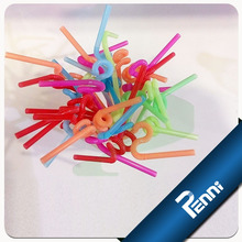 Food Grade PP Unwrapped Crazy Straw