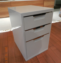 Lockable Office storage furniture/Office Filing Cabinet knock down structure