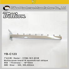 YB-C029 China fashion factory clothes display hook/clothes chrome hooks/clothes nails hook
