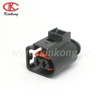 2 Way Sealed electric horn Connector for VW Audi 4D0971992