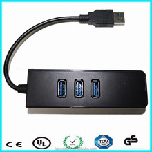 Wholesale 3port hub fast ethernet adapter