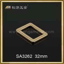 Most popular classical metal slider buckle with 888 stones