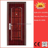 Metal double doors manufacturer exterior