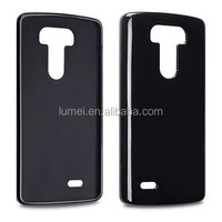Black Silicone TPU Rubber Mobile Phone Case For LG G3