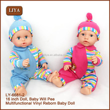 Plastic 16'' Dressed Up Boy Doll Toy For Children, Child Love Dolls