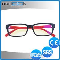 2015 Black Color Acetate Frame Famous Designer Reading Glasses High Quality For Women