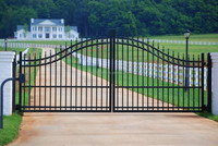 rod iron gates with high quality