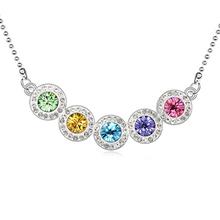 10839 genuine colar de pedras preciosas atacado réplica jóias