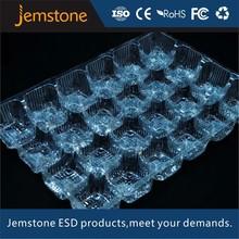 high quality transparent plastic vegetable storage tray
