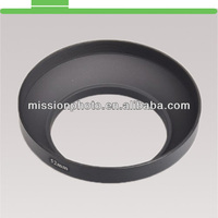 37mm metal wide angle screw in mount lens hood for Canon Nikon Pentax Sony