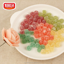16g sour and sweet fruit flavor gummy candy drop