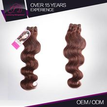 Full Cuticle 100% Remy Human Hair 7A Body Wave Wavy Tangle Free Indian Hair 7A Remy 4#