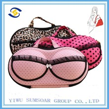 Wholesale fashion bra case make up storage bag underwear bags pvc cosmetic bags lingerie bag