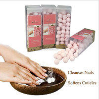 Manicure Pedicure Soak Have Clean Disinfection And Soften Cuticle Effect BATHRANI Rose 250g Nail art New 2015 Manicure at Home