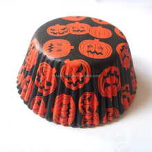 high quality low price Cute Pumpkin Halloween cupcake liner muffin baking cup cake case for bakery party cake decoration