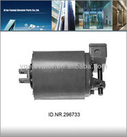 gearless motor for elevator, gearless traction motor home lift, 220v elevator motor