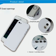 Wholesale Price 3D Sublimation Case Cell Phone Cover for iPhone 5/5S