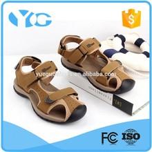 2015 nuevos productos calientes playa del ocio hombres de la sandalia del zapato