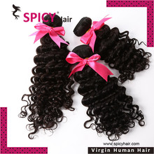 Top quality Wholesale fashion virgin filipino virgin hair curly wave hair