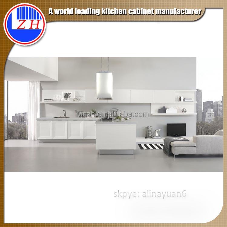 Philiphine hotel modern acrylic aluminium frame for for Kitchen set aluminium modern