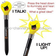 Fashionable Goofy Light Bulb Pen