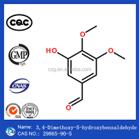 Benzaldehyde, 3-hydroxy-4,5-dimethoxy-China Manufactory Chemical Powder 99% Cas 29865-90-5
