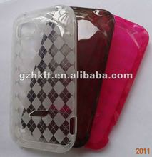 Crystal tpu gel case for HTC 6425 /vigor