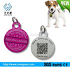 China factory excellent metal pet tag hot sell qr code epoxy dog tag