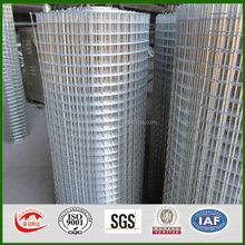 anping factory high quality and fairest price hot dipped galvanized welded wire mesh