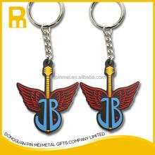 Custom Soft PVC Keychain/Rubber Keychains/Plastic Key Chains