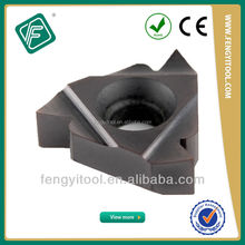 NPT National Pipe Indexable Tungsten Carbide Thread Metal Cutting Tools Inserts