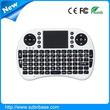 High Quality wireless keyboard air mouse bluetooth mini keyboard with touchpad for tv