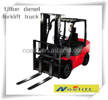 china mainland 1.8Ton diesel forklift truck with factory price for develop overseas markets