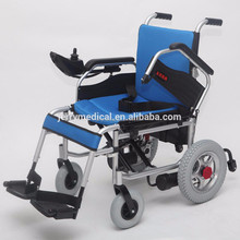 JRWD501 Blue NEW! HOT SALE! Useful Both Manual and Electric Wheelchair
