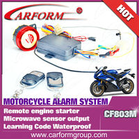 High quality alarm system motorcycle