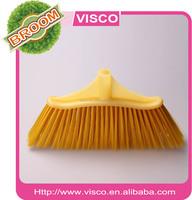 Yellow PP head and yellow fiber broom,VAA103