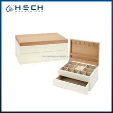 2015 newest high quality wood engagement ring storage box
