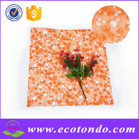 special offer printing colorful cellophane plastic wrap film for flowers