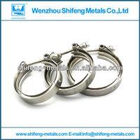 stainless steel exhaust muffler clamp