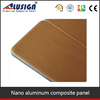 Alusign ACP interior wooden wall panel interior mirror exterior paint acp sheets
