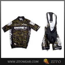Professional supply cycling jersey and shorts set with in Breathable Material