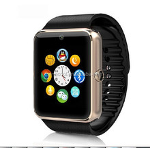 Fashion sport wearable technology devices android wifi pedometer heart rate monitor bluetooth gps wrist GT08 smart watch phone