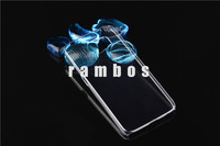 Slim Crystal Clear Hard Plastic PC Back Cover Phone Cases for Samsung Galaxy S6