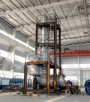 ASME turnkey skid mounted batch distillation used oil/waste water treatment plant
