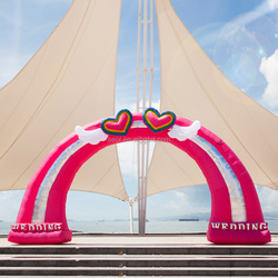 Good quality arch shaped/arch building/wedding arch,wedding accessory,inflatable arch