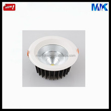 New Products recessed cob led down light housing, 3 inch dimmable led downlightings, metal lamp shade led downlight