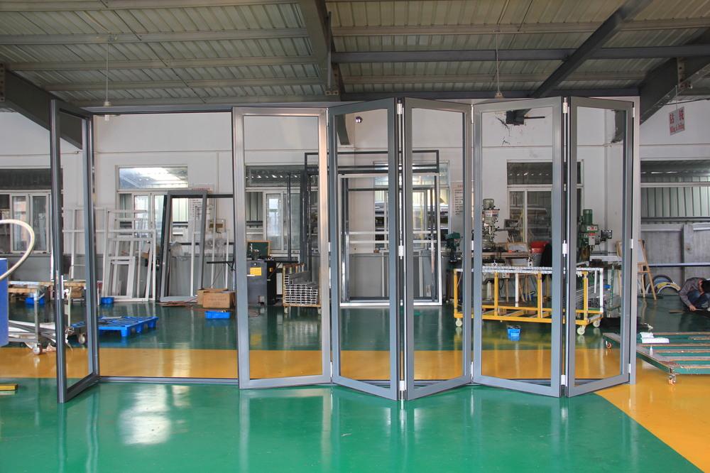 Accordion Garage Doors Folding Door Aluminum Bi Fold